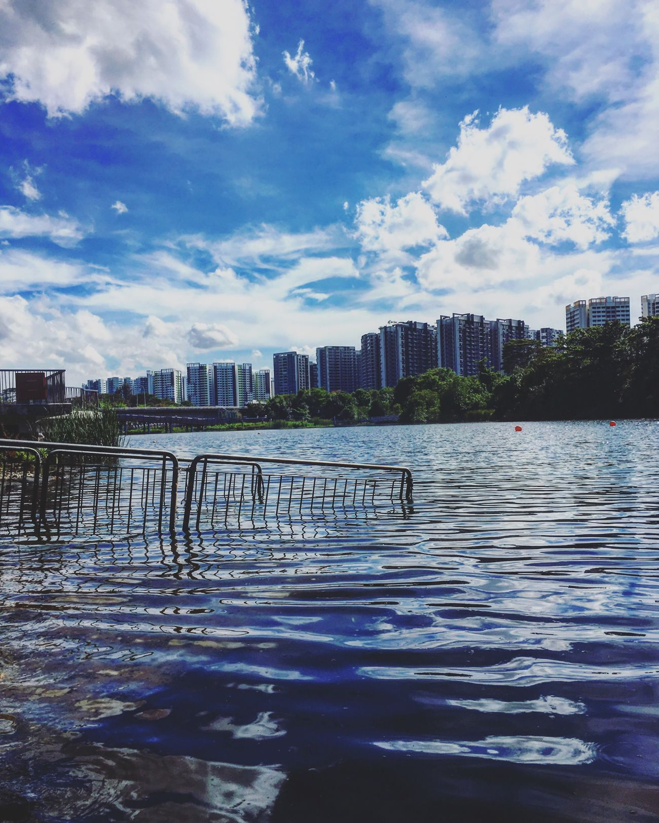 Stairway to Atlantis Water Sky Cloud - Sky Waterfront River Beauty In Nature No People Flooded