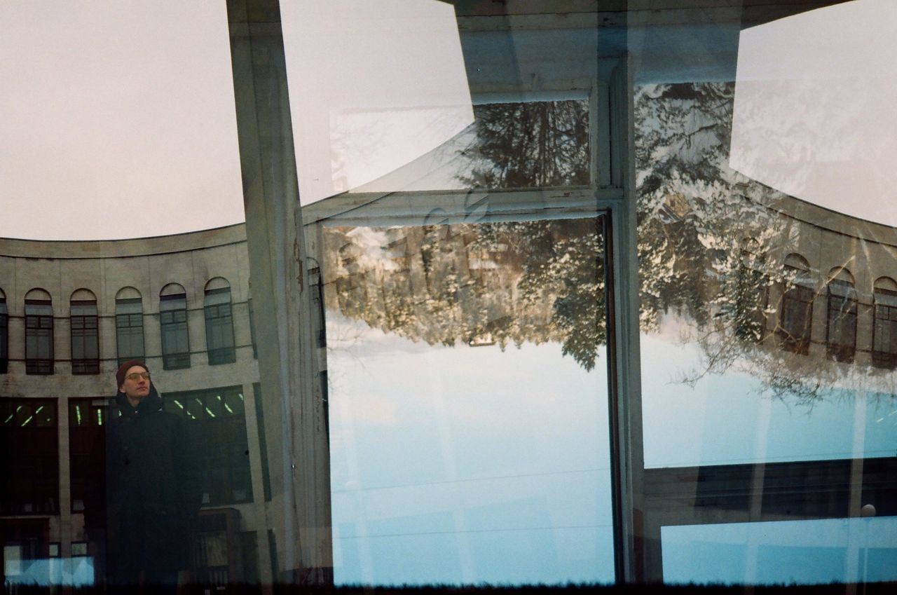 35 Mm Day 35mmfilmphotography 35mm Multiexposition Reflection Architecture Building Exterior Indoors  People Sky Architecture Russia Indoors  Library Abstract Surrealism Exposition Only Men