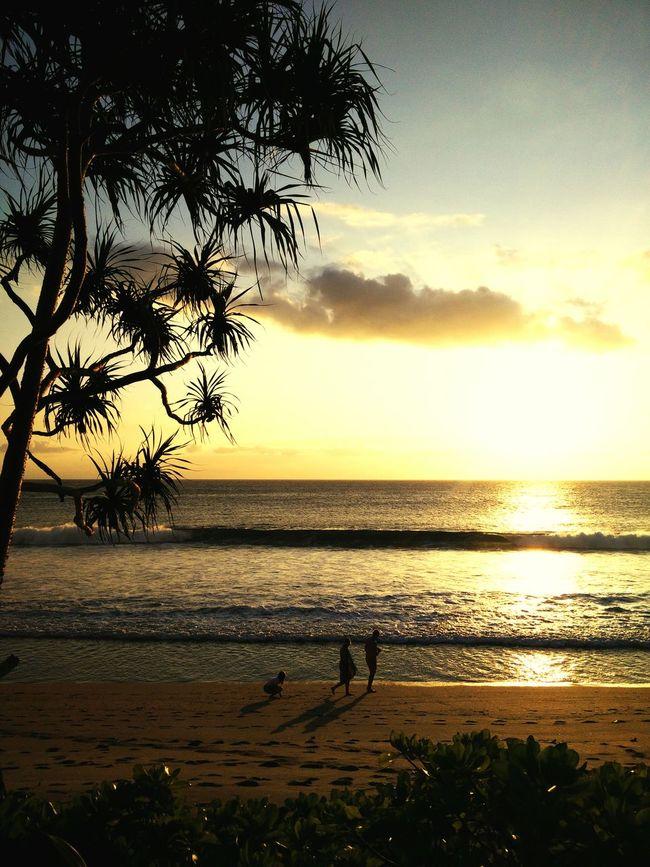 Lombok INDONESIA Beach Sunset