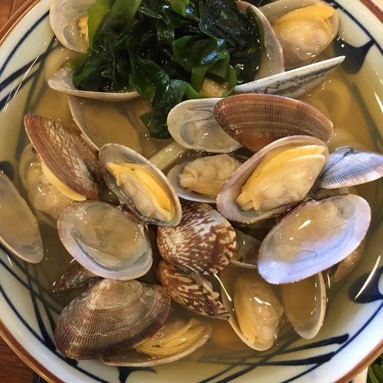 アサリうどん Foodporn Udon Noodles Japanese Food