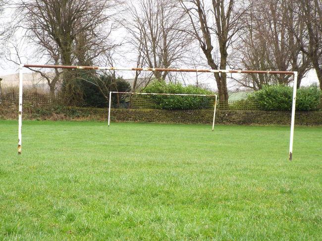 Tintwhistle United Kingdom Goalposts Rectangular Frame Rectangles Football Fever