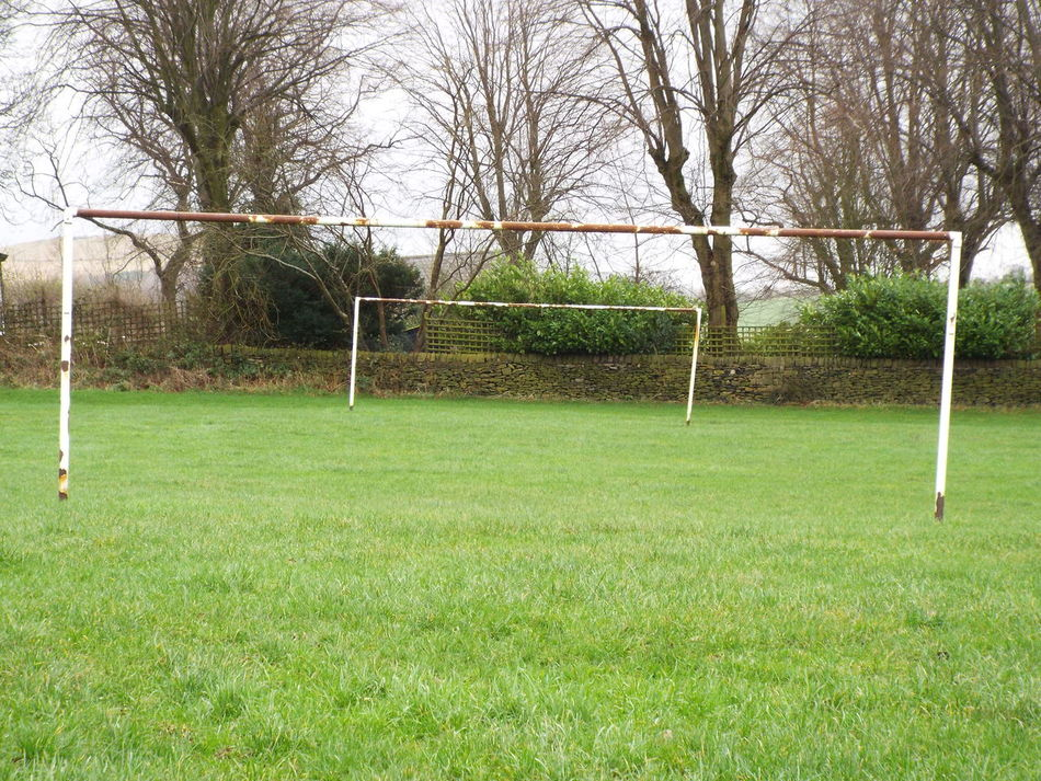 Tintwhistle United Kingdom Goalposts Rectangular Frame Rectangles Football Fever