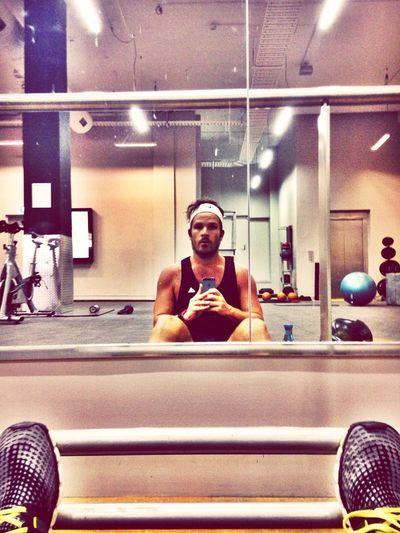 Kettlebell circuits. That's Me Fitness Reflection Self Portrait Selfie Exercise Hot EyeEm Best Shots Hello World
