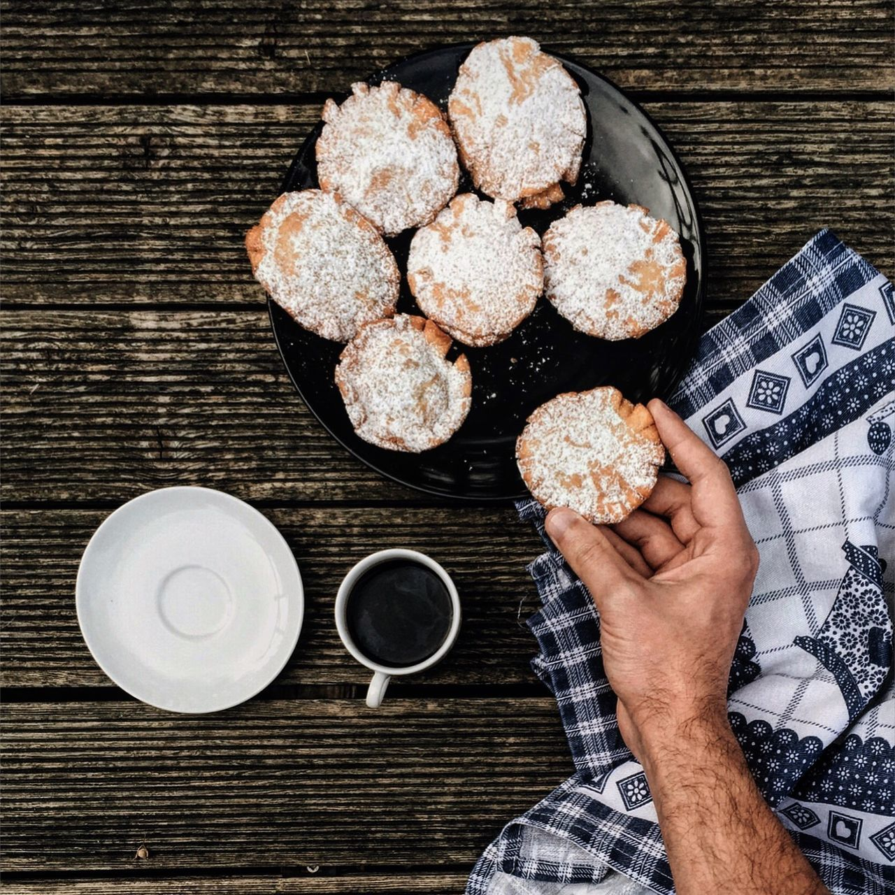 Beautiful stock photos of coffee, Breakfast, Coffee - Drink, Cookie, Cropped