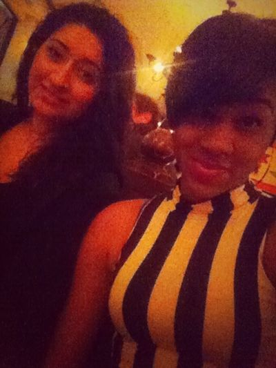 With my hoe !