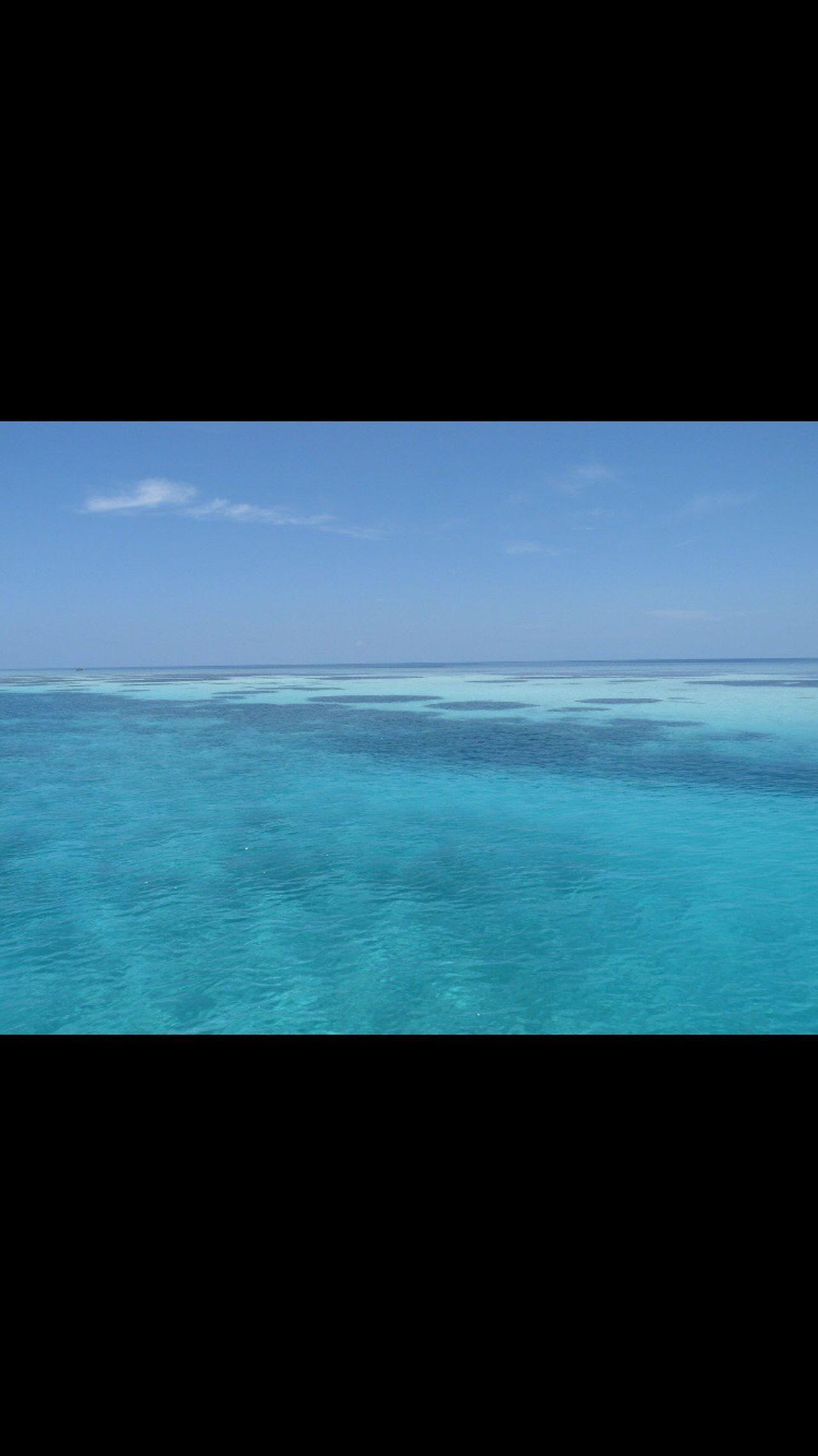 Crystal Clear Waters Sea