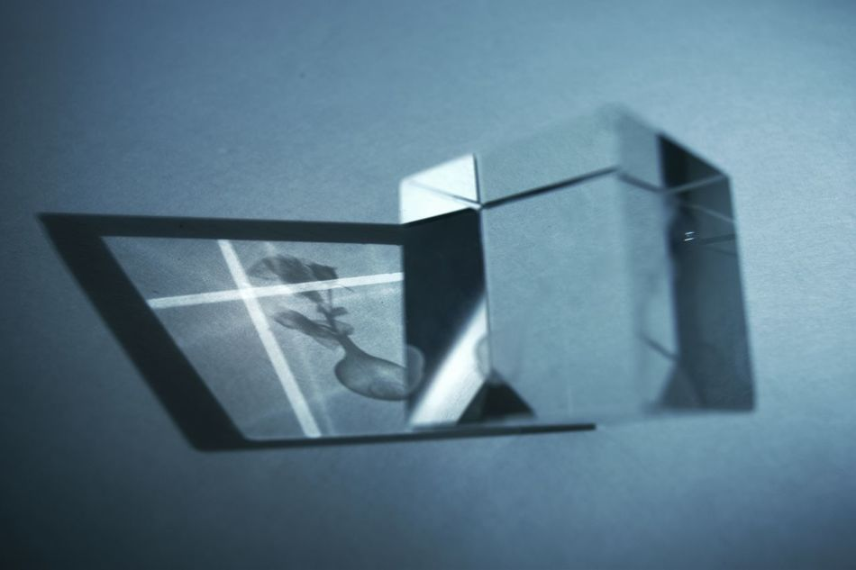 Refract Toy Figurine  Macro Up Close Shadows & Lights Shadow Light Alone Cast A Shadow Prism Cube