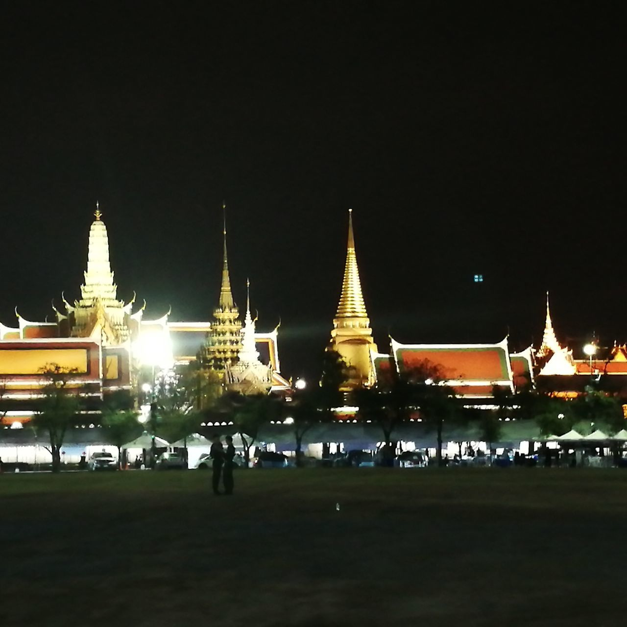 Travel Destinations Night Architecture Tourism Travel HuaweiP9 Grand Palace Bangkok Thailand Respect