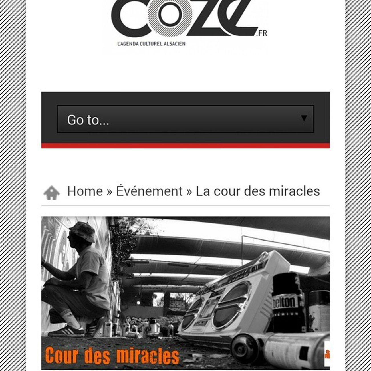 """On en """"Coze"""" Expo Graffiti Graffiti Graffitiwall Photo Strasbourg Dj Bodypaint le 25 juin à 19h Mapremiereexpo"""