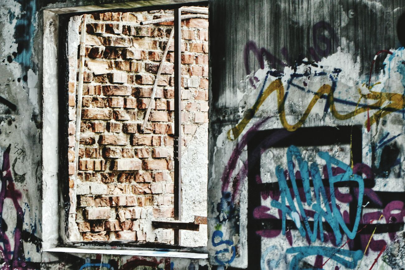 Abondoned Buildings Abondened Places Grafitti Wall Windowporn This Week On Eyeem Showing ımperfection Wall Brickporn