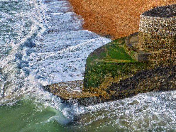 Taking Photos EyeEm Nature Lover Malephotographerofthemonth High Tide Waves Crashing Seafront Brighton