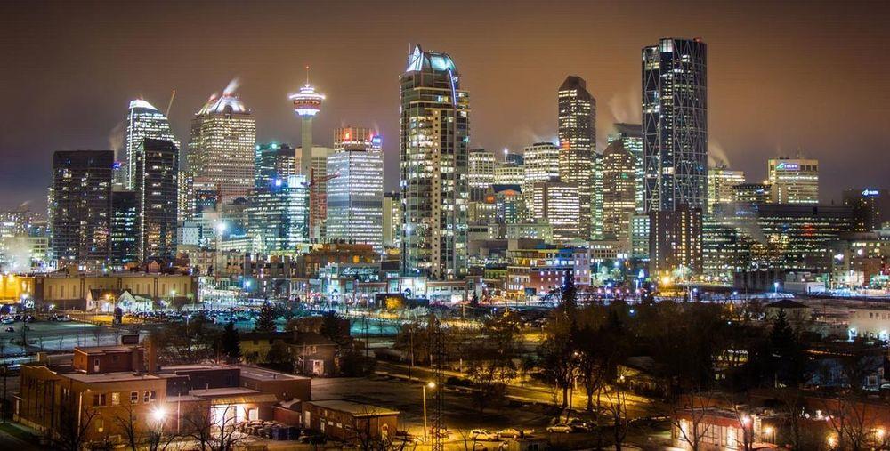 Cities At Night Calgary First Eyeem Photo