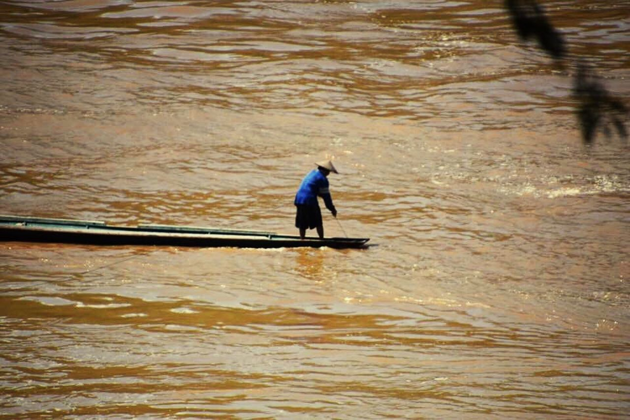Mighty Meekong Fisherman River Boat