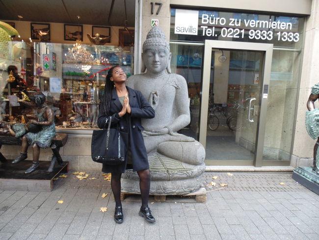 Cologne Germany Köln Bouddha  Buddhism Buddha Laughing Praying Pray Trip Traveling Europe Tourists