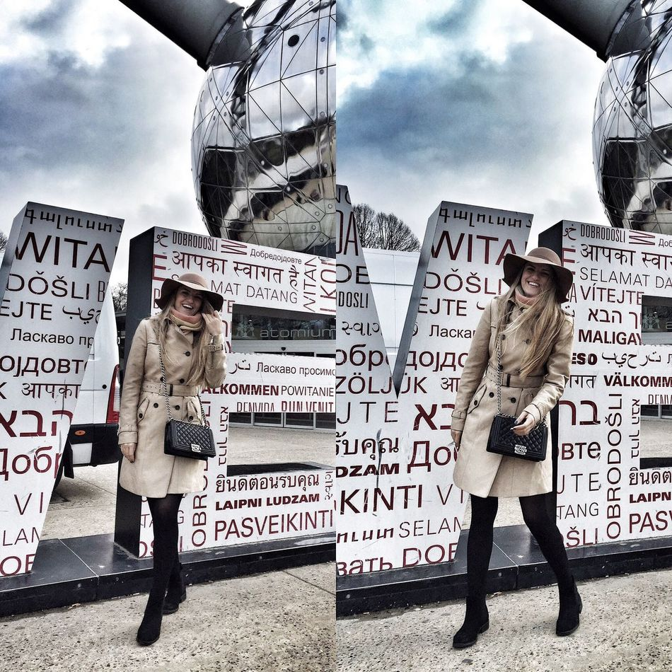 Hello World Taking Photos Relaxing Traveling Travel Photography Belgium Bruxelles Bruxelles Central Atomium ATouristInMyOwnCity Happy Me Outfit