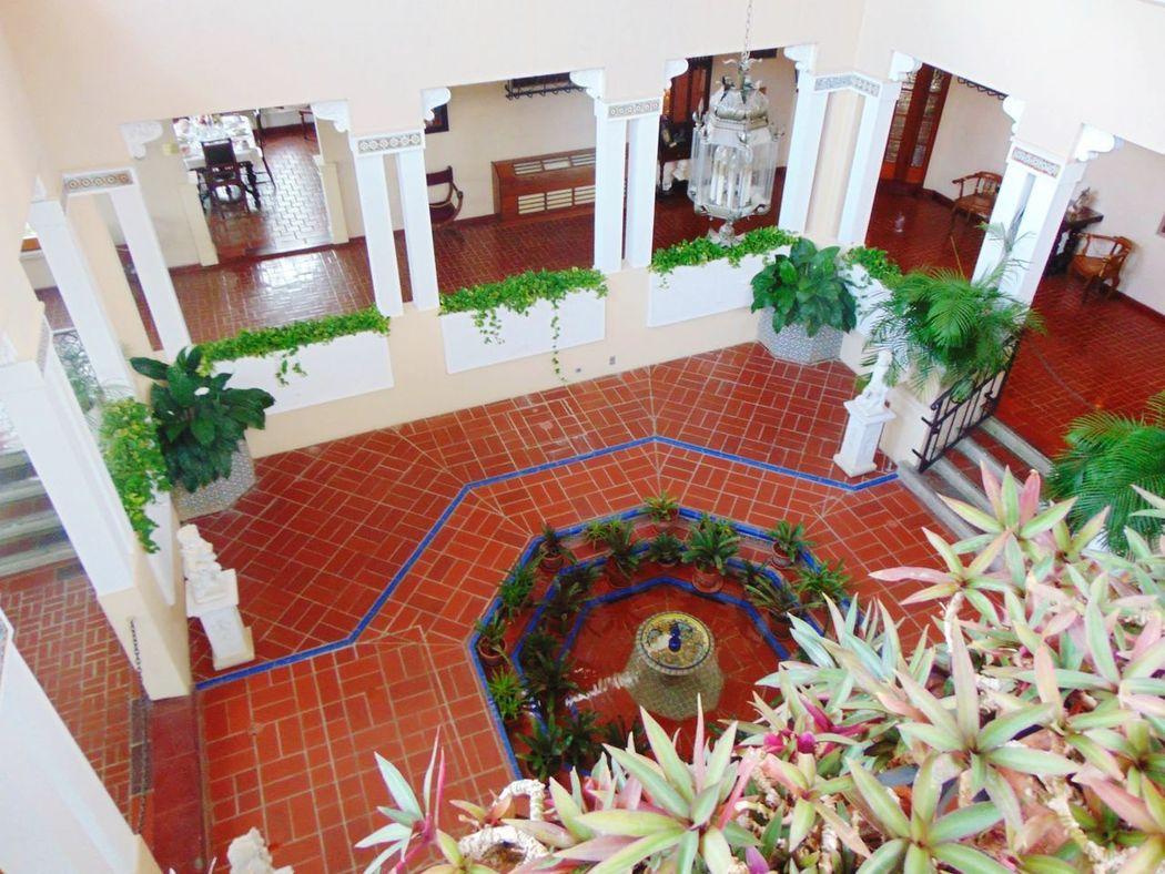 High Angle View Architecture Castillo Cerrallez PUERTO RICO 🇵🇷 Ponce,Puerto Rico Indoor Patio