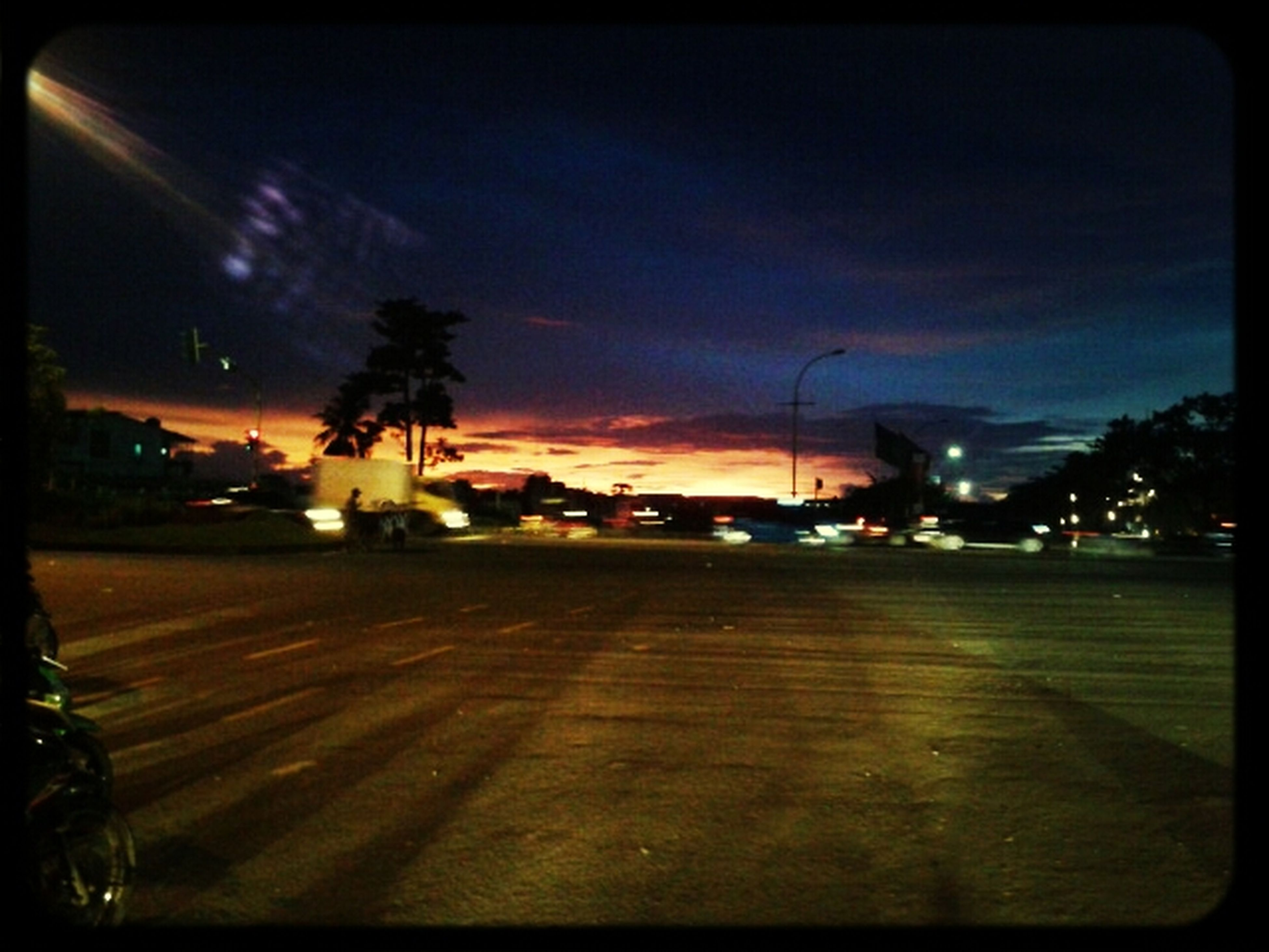 Red Sky  And The Night Lights