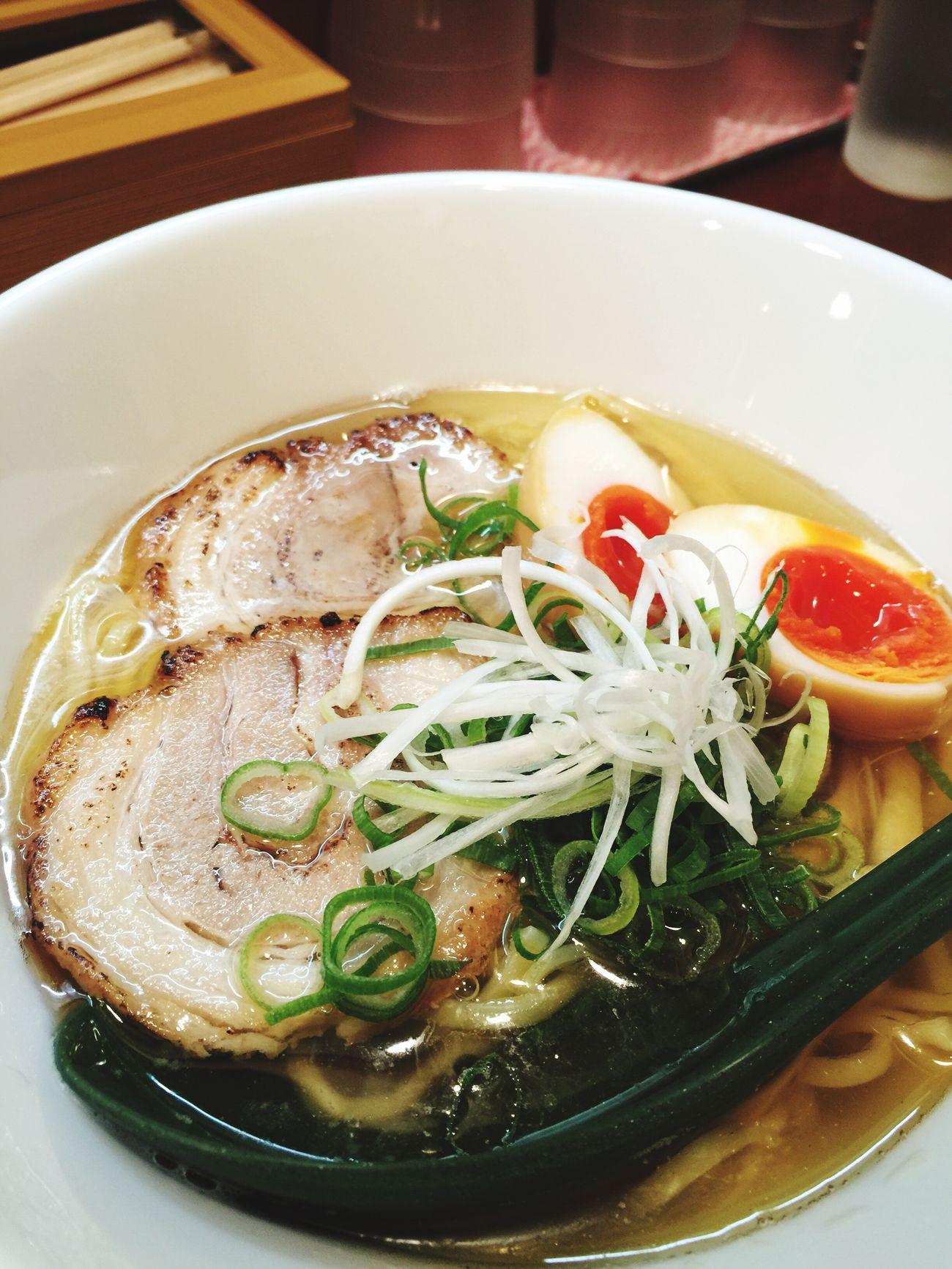 優しい塩ラーメン。わたし好み。 Vscocam #vsco ラーメン ラヲタ ラ女子 Ramen 大阪市 本町