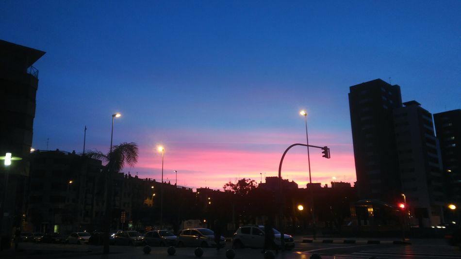 Night Illuminated Street Tree Sunset City Outdoors Travel Destinations Sky Nature Urban Skyline No People