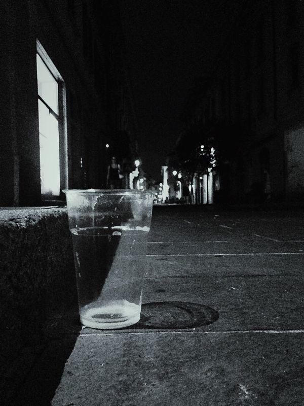 Plastic Cup Street Monochrome Blackandwhitephoto Shadow Learn & Shoot: Layering Showcase Creative Light And Shadow Shades Of Grey EMCSummerViews B&w Street Photography