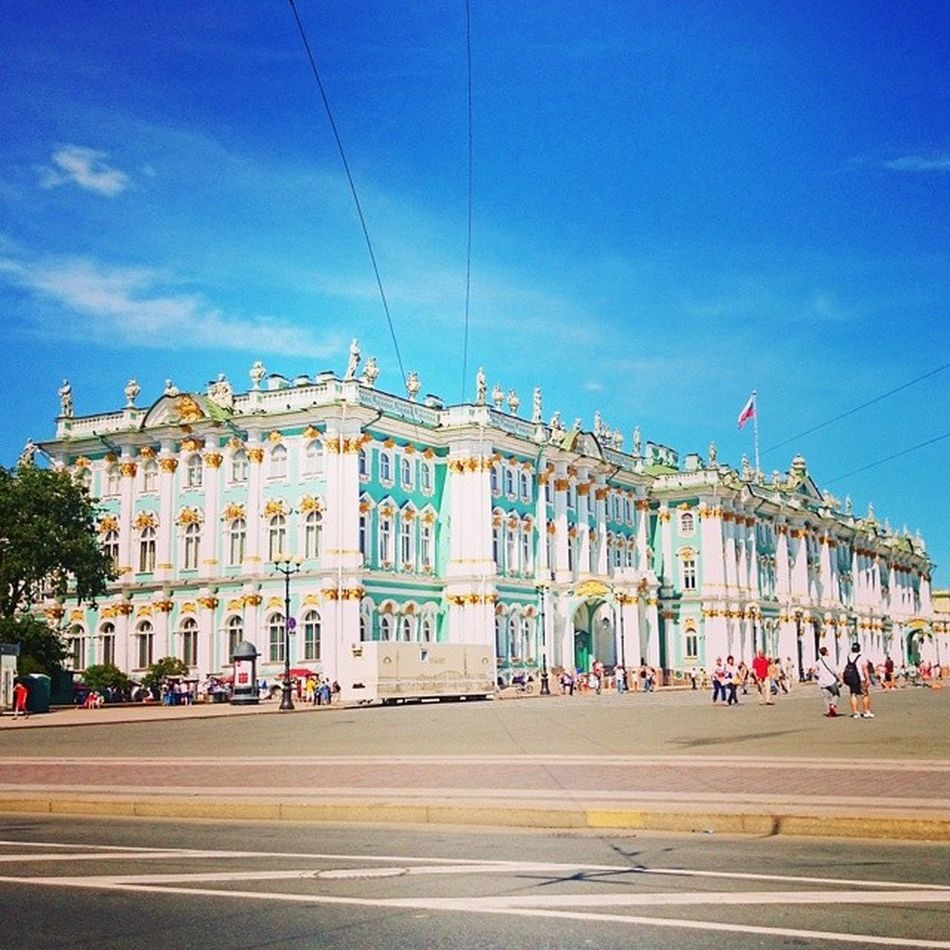 лето2014 эрмитаж Санкт -Петербургдворцоваяплощадь