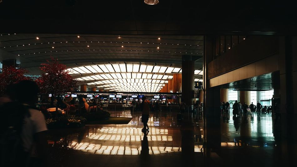 Changgi, Airport. #Airport #architecture #Dark #EyeEm #INDOOR #landscape #perspective #photography #photoshoot  #PicturePerfect #RANDOM #Singapore Silhouette