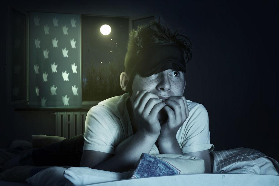 Beautiful stock photos of dark,  12-13 Years,  Adolescence,  Anticipation,  Bed