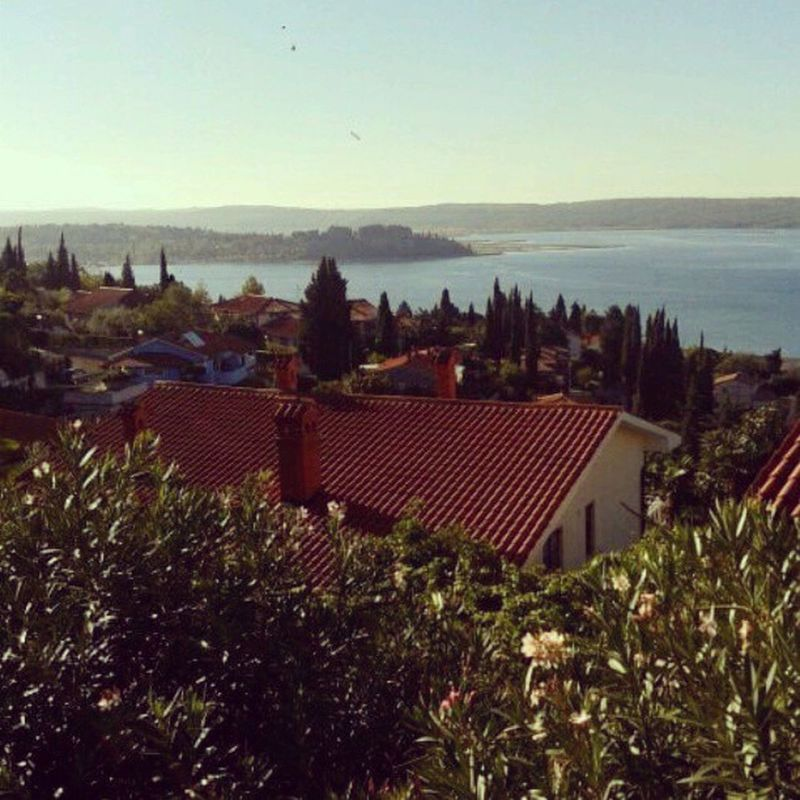 On the coast again with a beautiful view :)) Portorose Coast Loveit View seaside sun