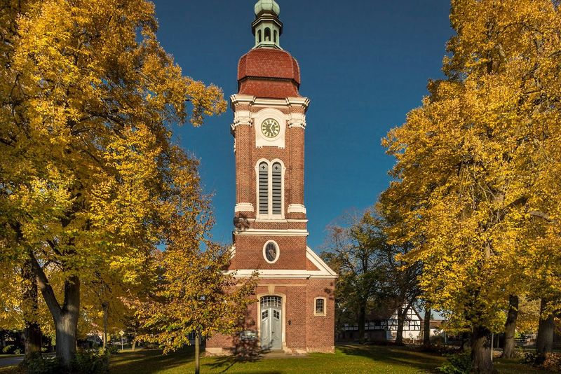 Tree Autumn Architecture Building Exterior Religion Built Structure Change Place Of Worship Outdoors No People Sky Day Leaf Clock Tower Nature Beauty In Nature Bell Tower