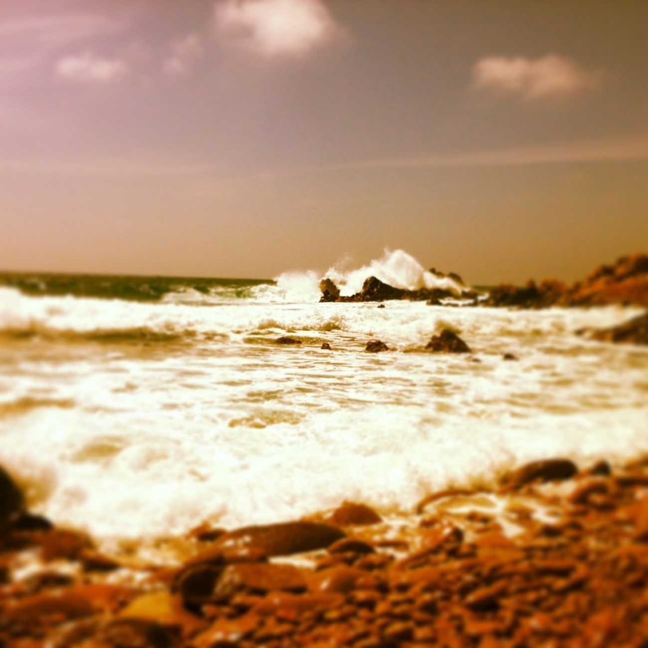 #sea #waves #ajaccio #corsica #waves #wind