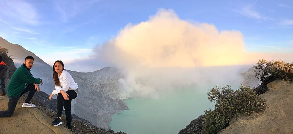 Ijen Crater. Volcano in Indonesia. The Great Outdoors - 2017 EyeEm Awards
