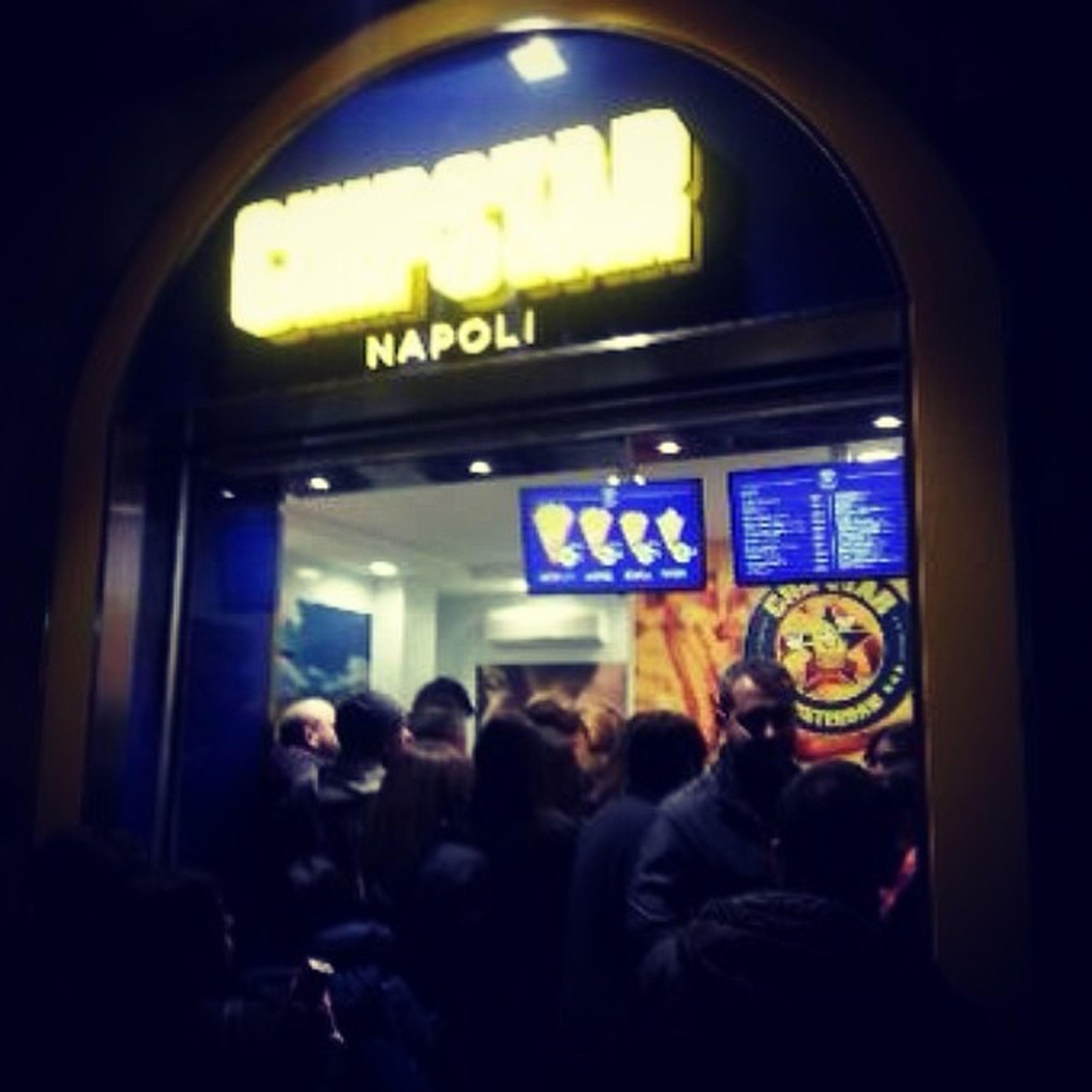 Solo a Napoli ?❤️??