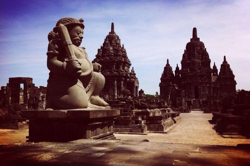 Sewu Temple Temple Yogyakarta Architecture Sculpture Building Java Central Java INDONESIA Candi Sewu Candi