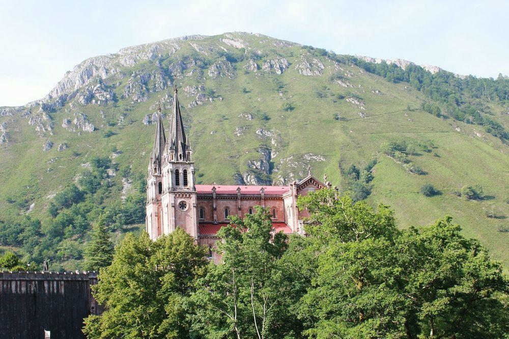 Covadonga Asturias , Spain Architecture Nature