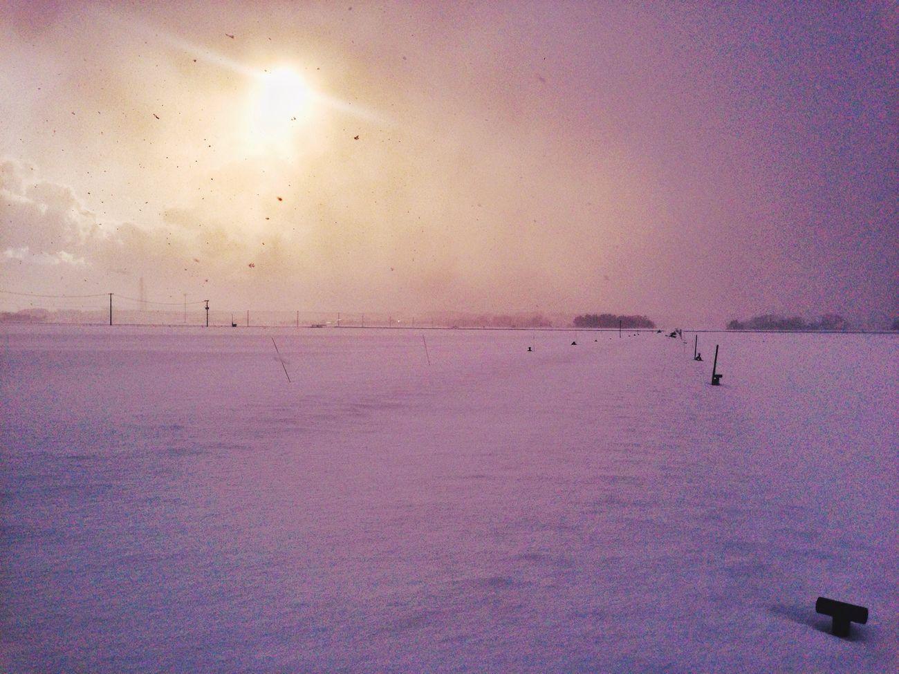 IPhone IPhoneography Mobilephotography Snow ❄ Nature Winter Snow Sun Sky Cold Temperature Winter Sunlight EvningGlow Evning Sky Nature