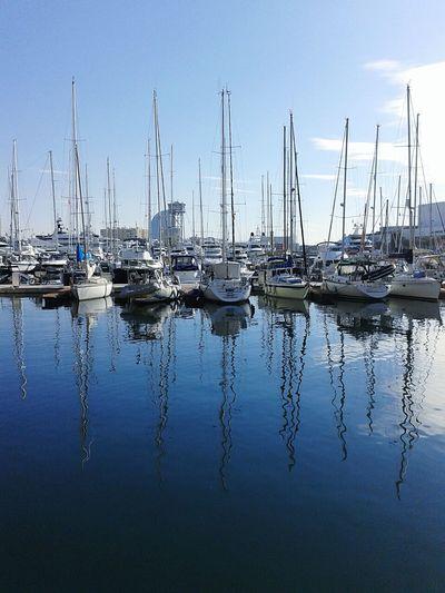 Port De Barcelona  Barcelona EyeEm Gallery Hello World Landscape #Nature #photography Relaxing