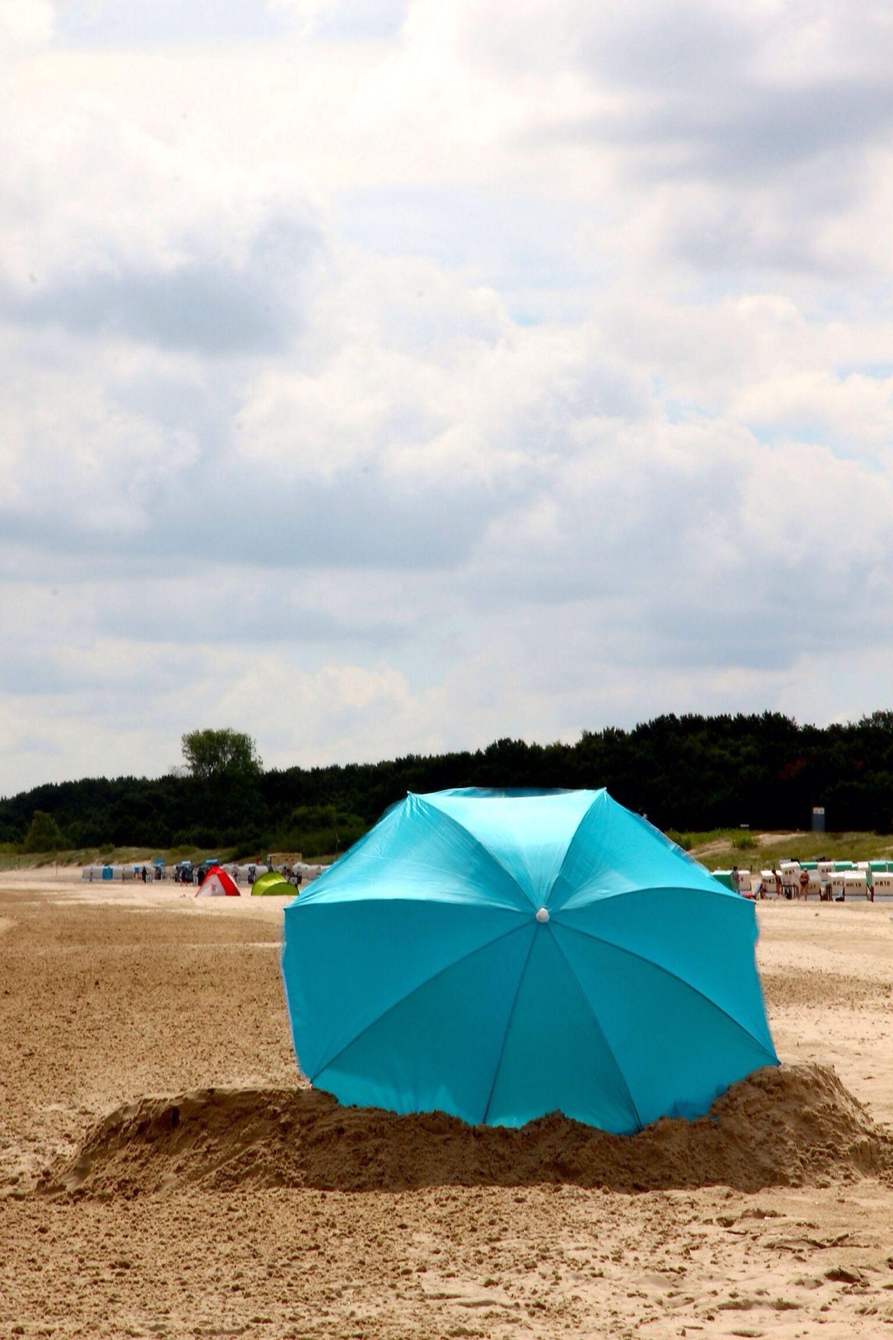 Beautiful stock photos of umbrella, Beach, Blue, Cloud, Day