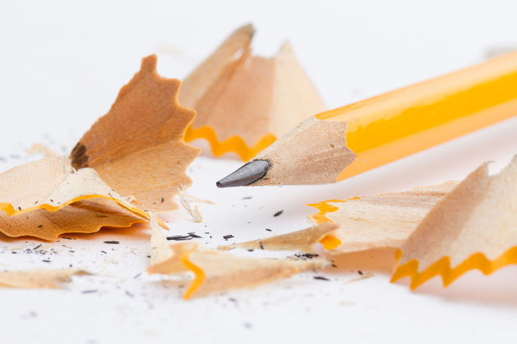 Product Product Photography Pencil Shards Yellow