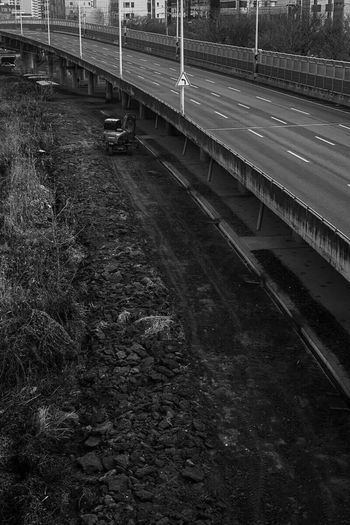 Silent Forest Draw A City On The Road Black & White Blackandwhite Photography Walking Around City One Day Melancholy