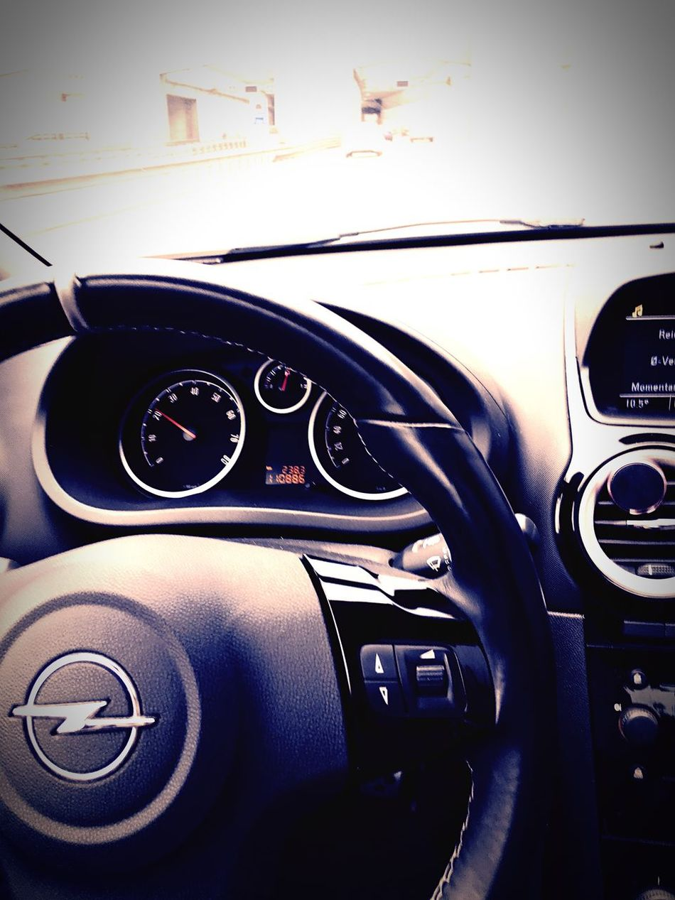Car Transportation Vehicle Interior Close-up No People Land Vehicle Focus On Foreground Dashboard Control Panel Indoors  Car Interior Technology Day Gauge Opel Corsa D OPC