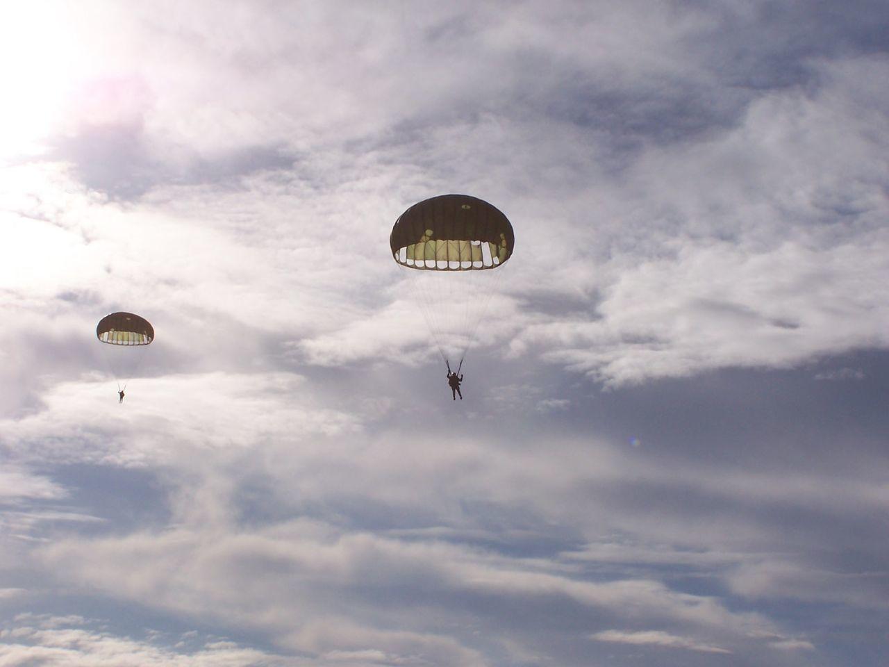 Training jump, old times, Memories ❤ Murcia Original Experiences Paratrooper SPAIN Adventure Club