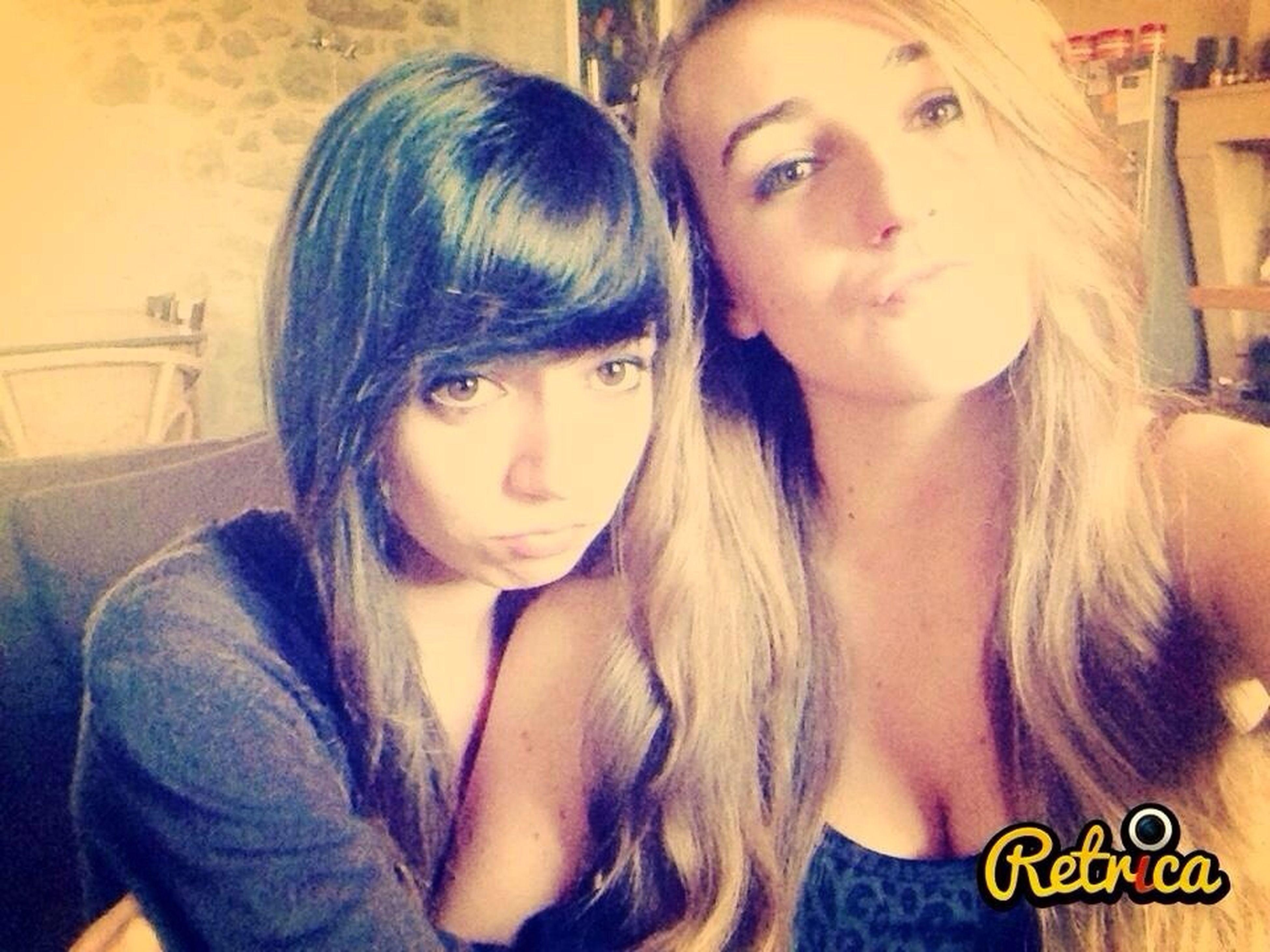 Chouchou ♥ Blonde Brune Fun #kiss😘