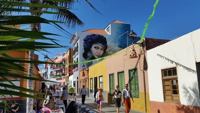 Street life at Puerto de la Cruz, Canary islands of Spain Architecture Building Exterior Canary Islands Casual Clothing City Colorful Colour Of Life Graffiti Graffiti Art Grafitti Lifestyles Low Angle View People And Places People Watching SPAIN Spain♥ Street Street Art Street Photography Streetart Streetphoto_color Tenerife Tenerife Island Teneriffa TakeoverContrast