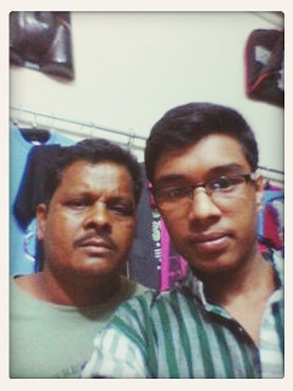 me with my father.... Travelling Hello World On The Road Travelling