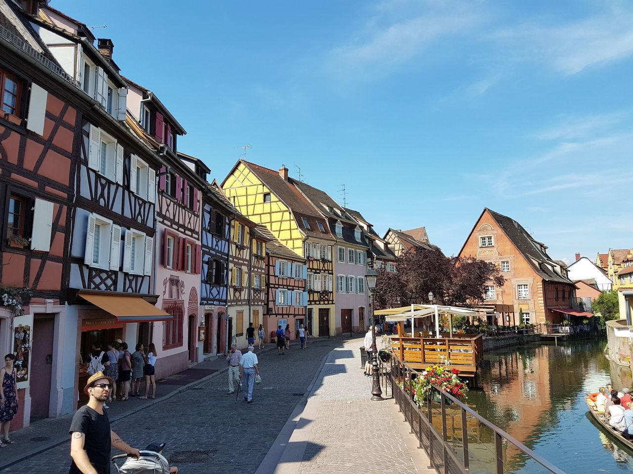 Colmar, Alsace, France Building Exterior Architecture Outdoors Sky Day Tourism Travel City Built Structure Tranquility Europe Travel Destinations France Alsace