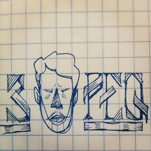 Random type doodle. No idea what it's about, but it's tiiiiny #type #typography #handdrawntype #doodle #sketch #draw #drawing #art Art Drawing Doodle Typography Draw Type Sketch Handdrawntype