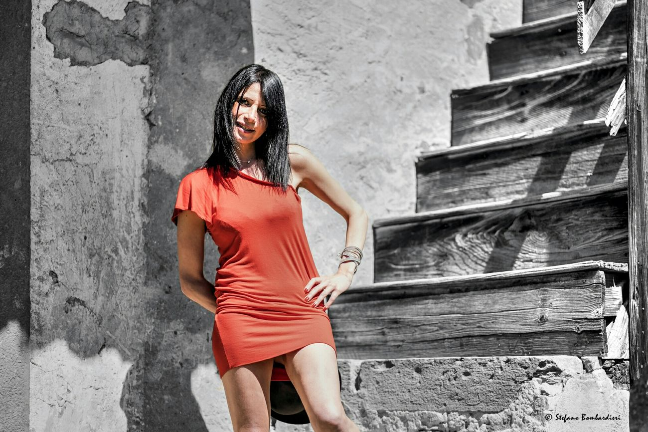 Woman in red . . . Eye4photography  Portrait Of A Woman Beautiful Girl Portrait Of A Friend
