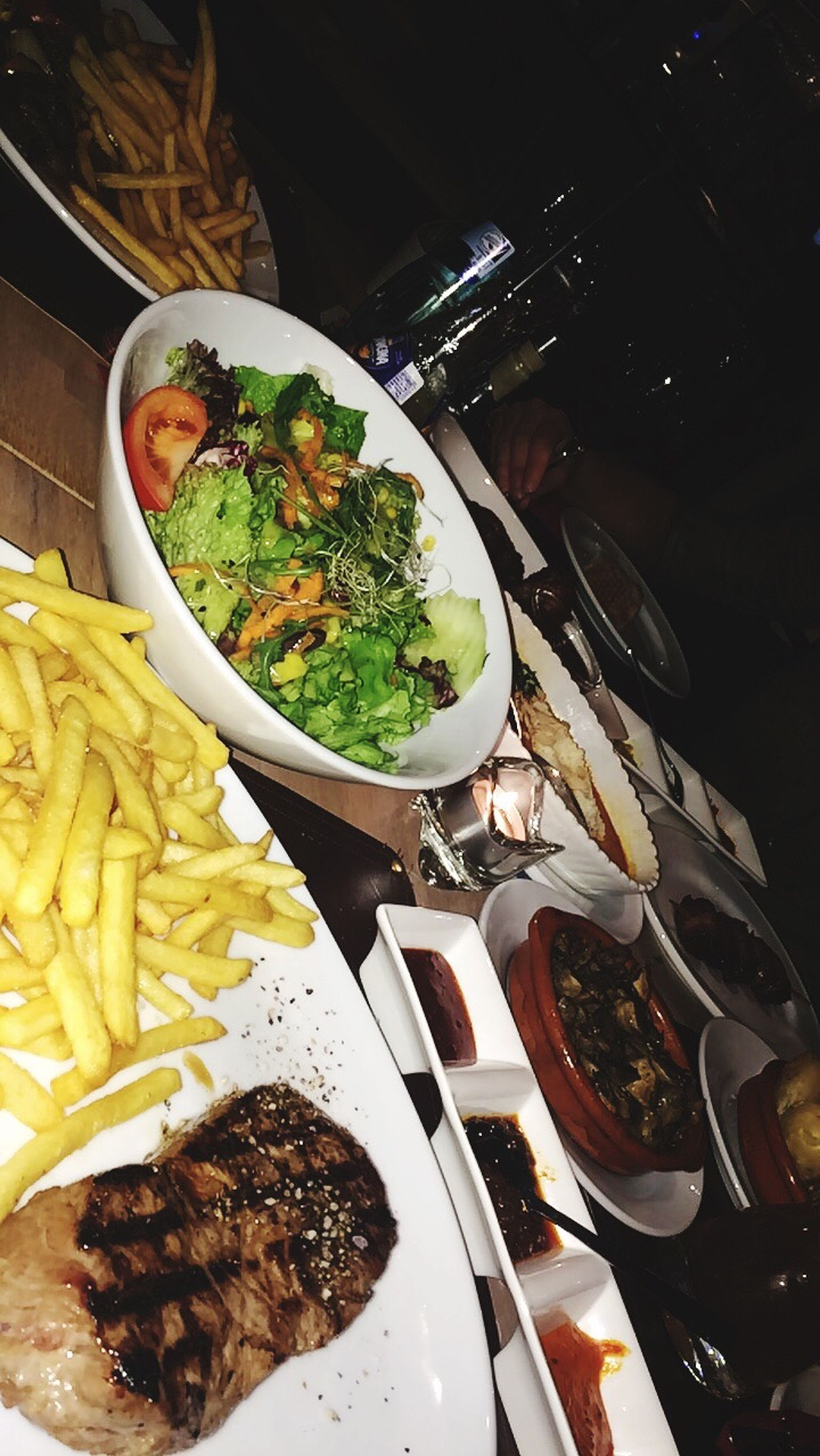 food, food and drink, high angle view, ready-to-eat, plate, freshness, meal, healthy eating, table, indoors, no people, close-up, asian food, prepared food, day