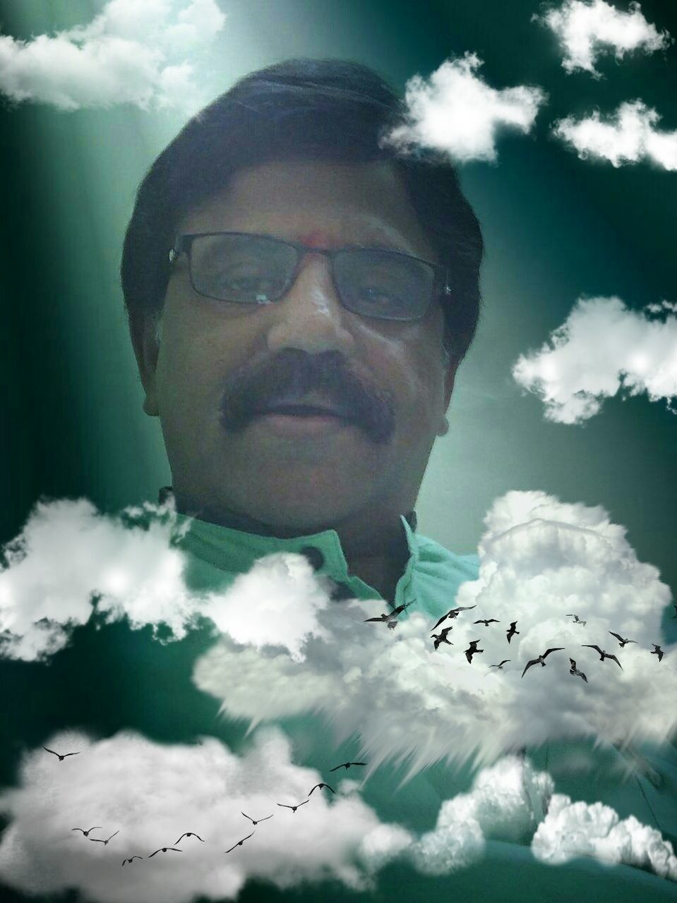 cloud - sky, one person, real people, sky, eyeglasses, young adult, young men, leisure activity, mid adult, mid adult men, headshot, outdoors, head and shoulders, front view, day, looking at camera, portrait, lifestyles, glasses, low angle view, nature, young women, close-up, people