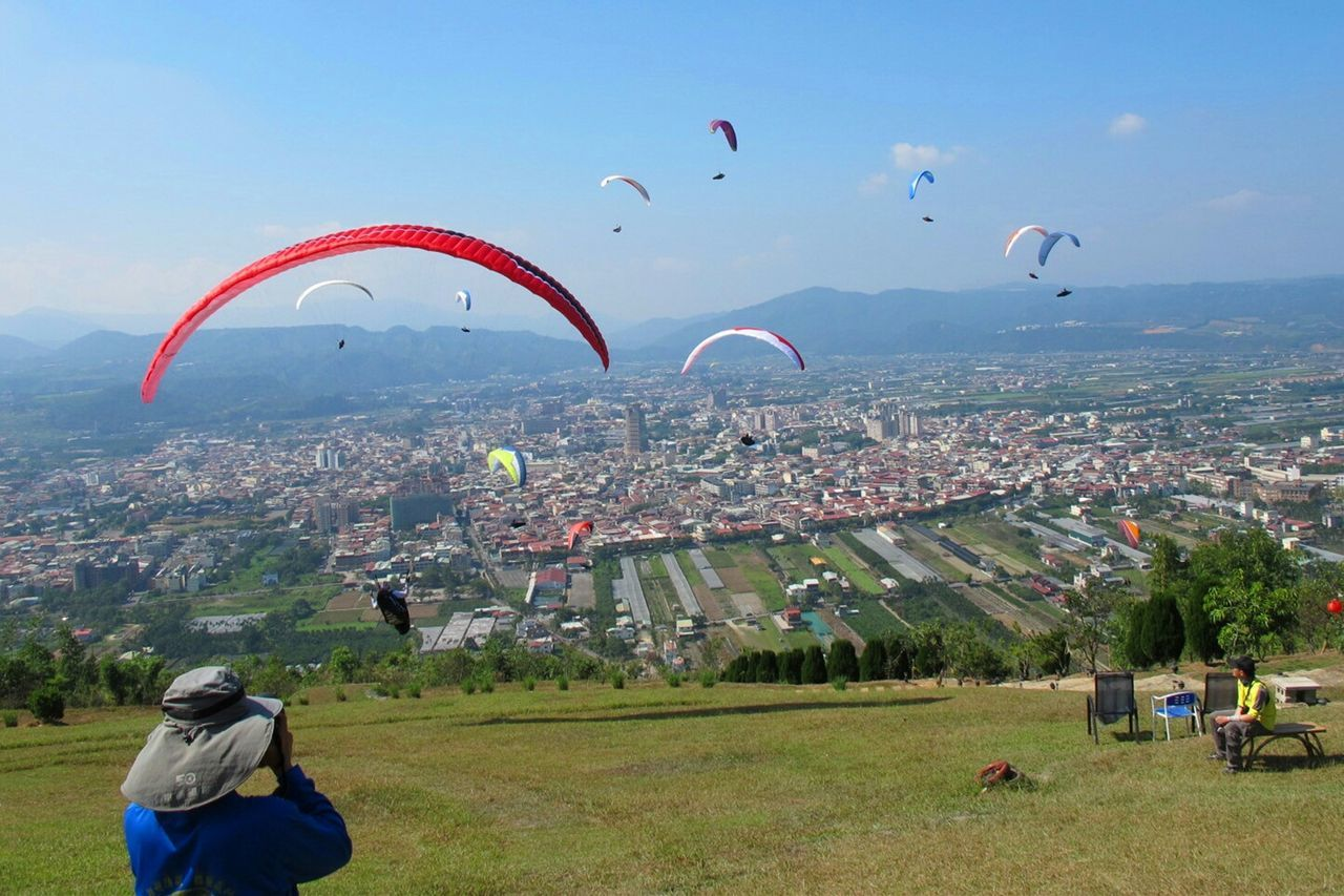 真想在晴空下飛行 Paragliding Love In The Air RePicture Leadership Enjoying Life Flying Take Off Travel